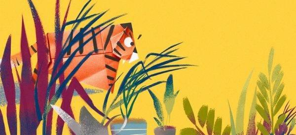 фото - тигрик оригамі букмоль