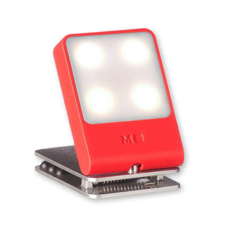 Ліхтарик-закладка для подорожей Moleskine / Червоний