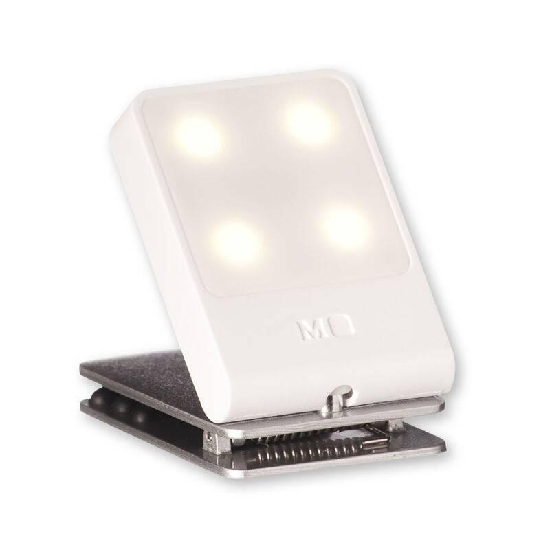 Ліхтарик-закладка для подорожей Moleskine / Білий