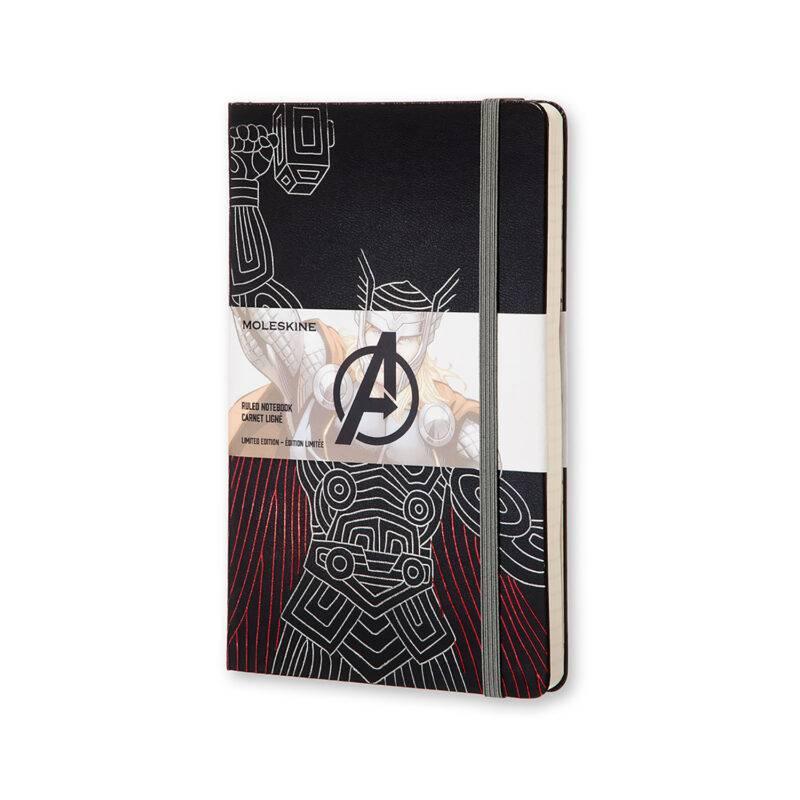 Записник Moleskine Avengers середній / Лінійка Тор